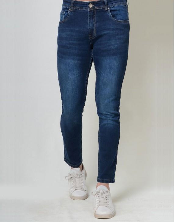 Slim Fitted Dark Wash Jeans