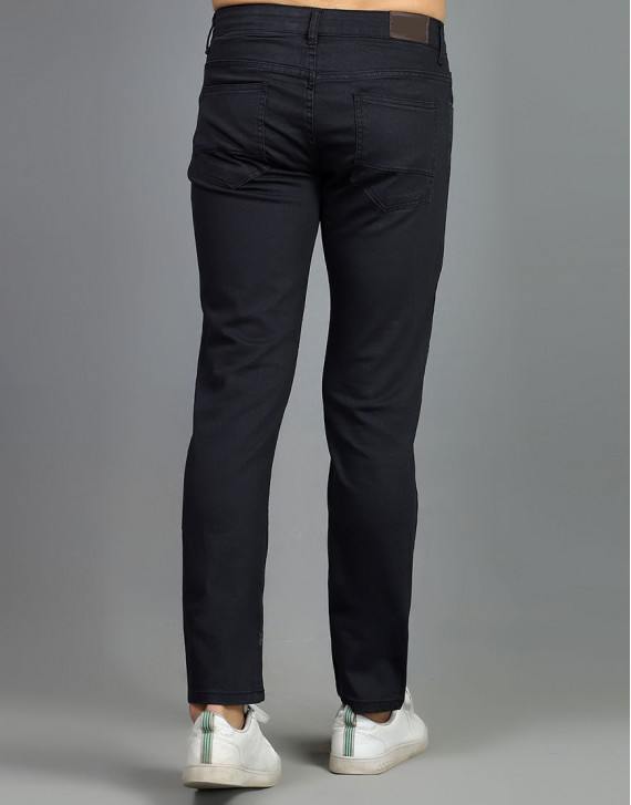 Slim Fitted Black Jeans