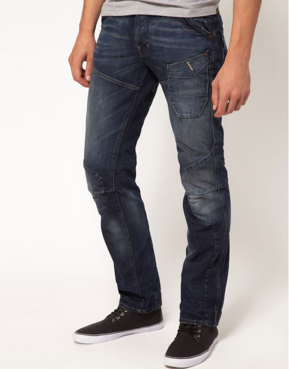Low Straight Jeans