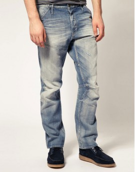 Carrot Fit Blue Jeans